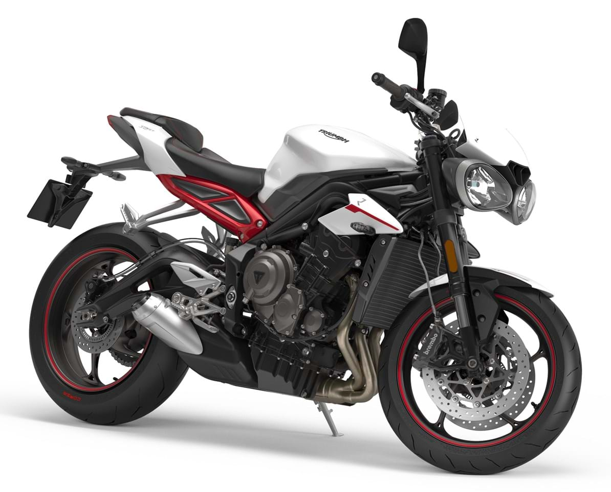 triumph street triple r 765 2017 on for sale price guide the bike market. Black Bedroom Furniture Sets. Home Design Ideas