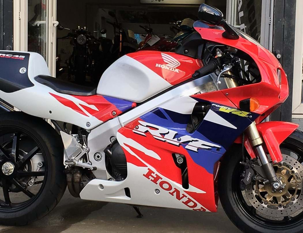 Honda rvf750r rc45 sports 1994 2002 pricing also consider on the road