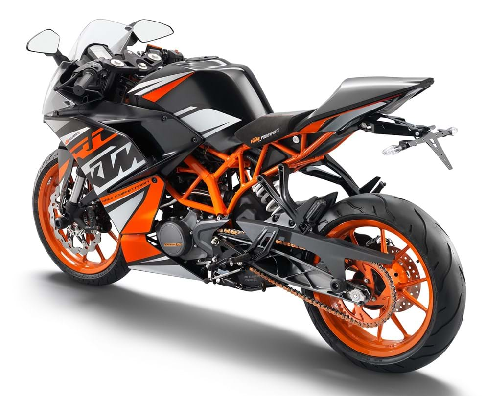ktm supersport rc 125 (2014 on) for sale & price guide | thebikemarket