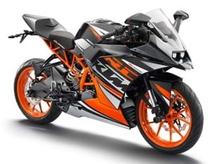KTM Supersport RC 125 (2014 On)