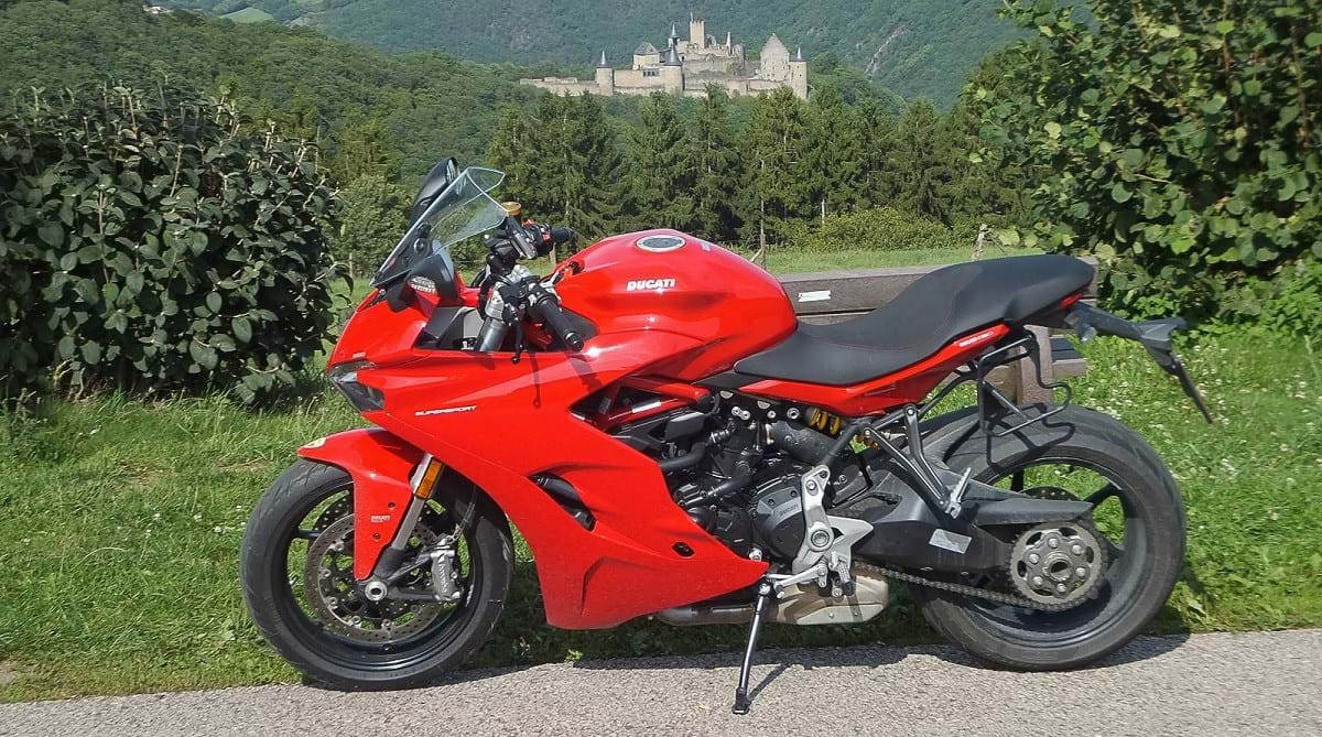 Ducati SuperSport 2017 on Tour in Luxembourg