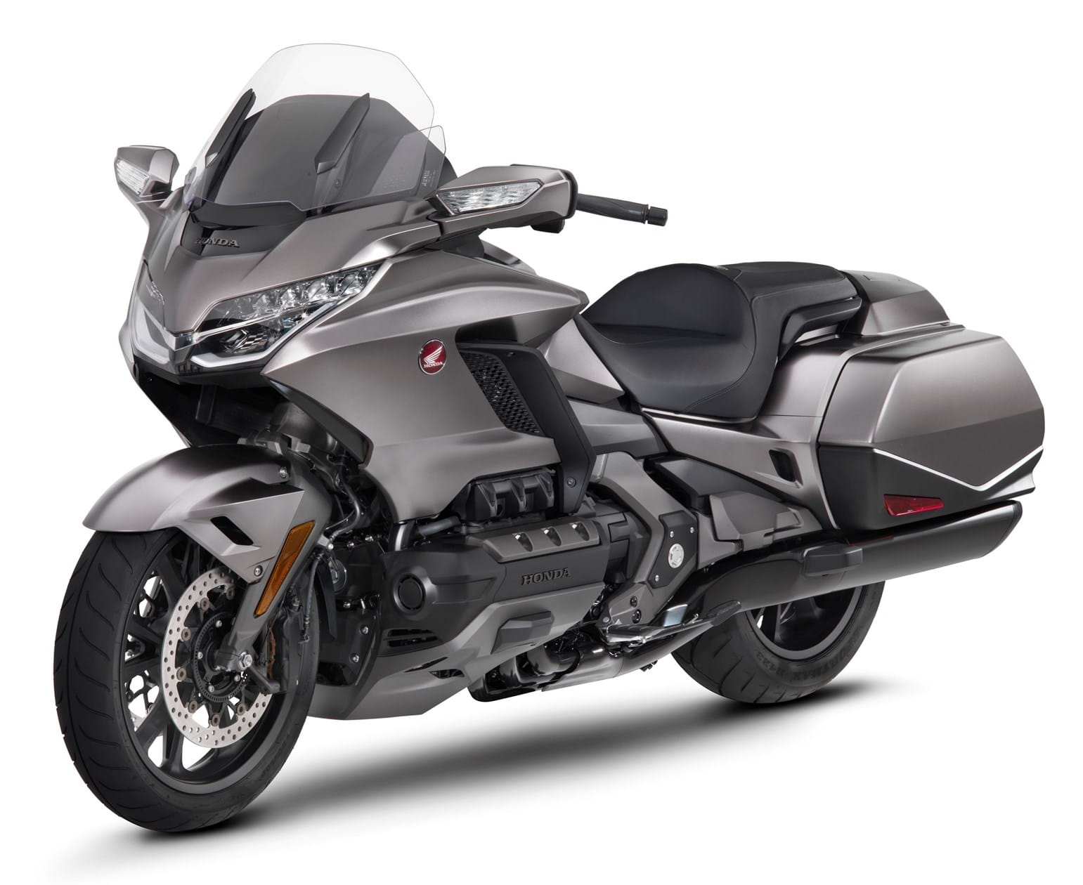 The Honda Goldwing GL1800 Is A Large Fully Featured Touring Bike With Shaft Drive And Powered By Flat Six Engine Which Produces 125bhp