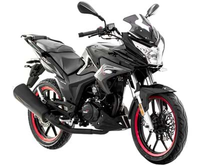 Lexmoto Naked ZSX 125 ZS125-48A (2013-2015) • For Sale