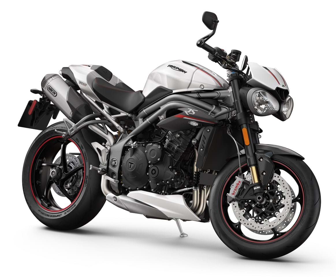 triumph speed triple rs 1050 2018 on for sale price guide the bike market. Black Bedroom Furniture Sets. Home Design Ideas