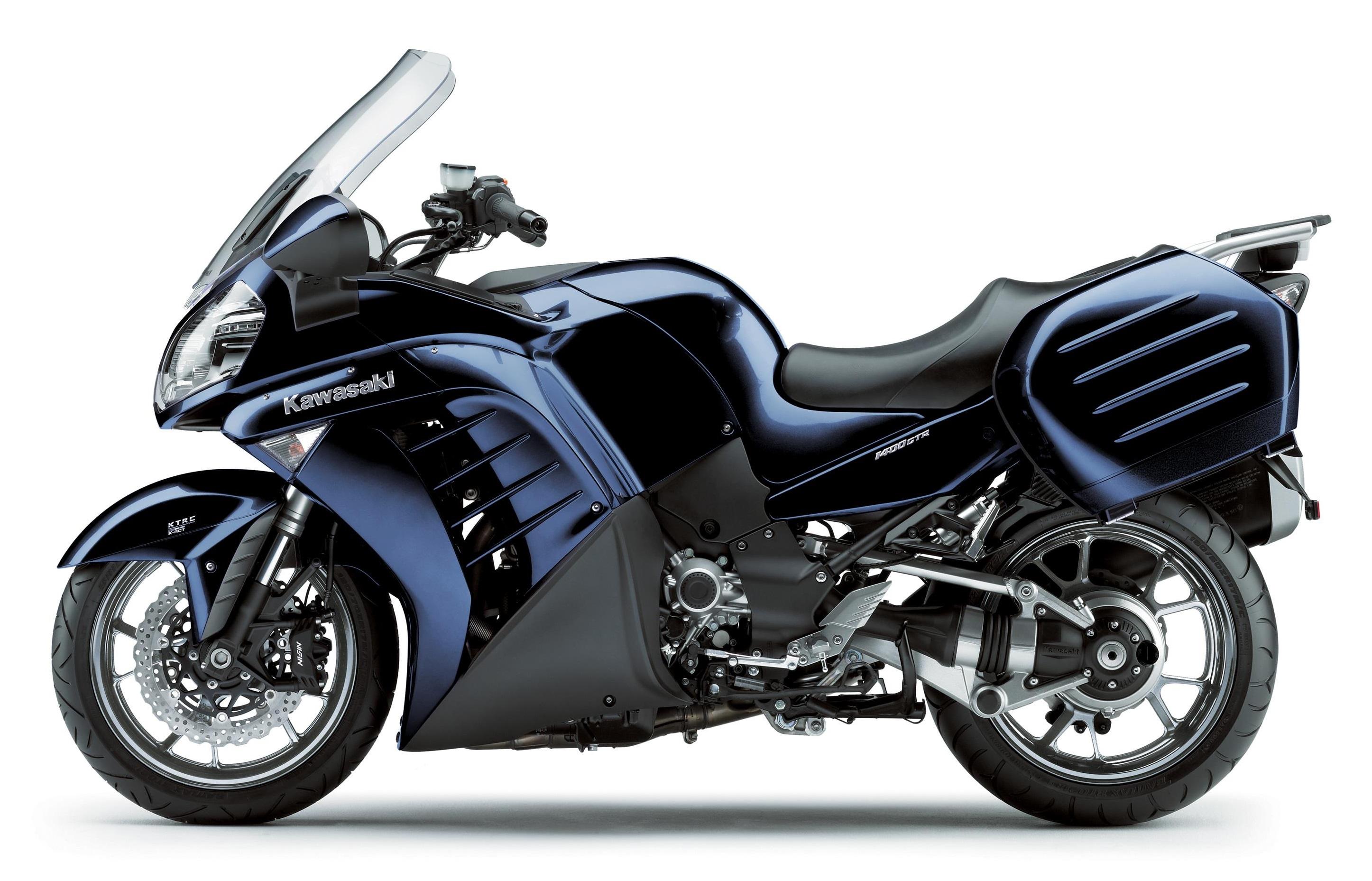 KAWASAKI GTR1400 2007-2009 TALL SCREEN CLEAR OR GREY