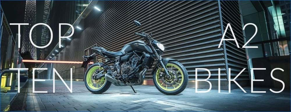 Best A2 Licence Motorbikes