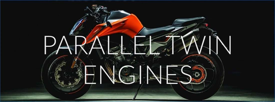 Parallel Twin Motorbike Engines