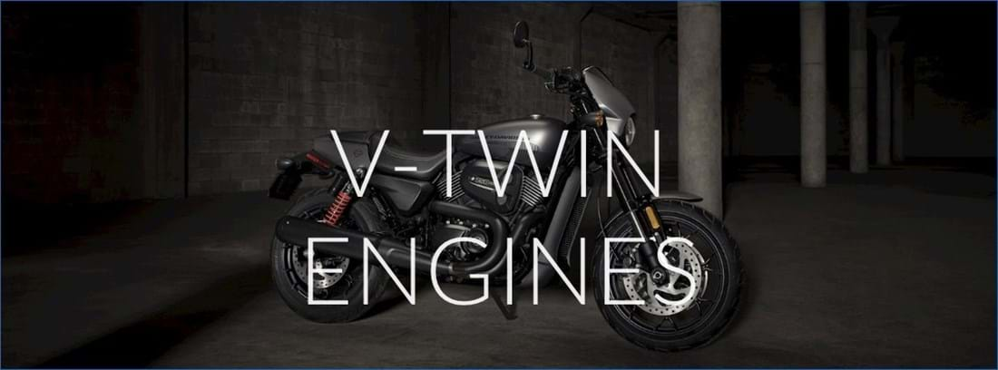 V-Twin Motorbike Engines