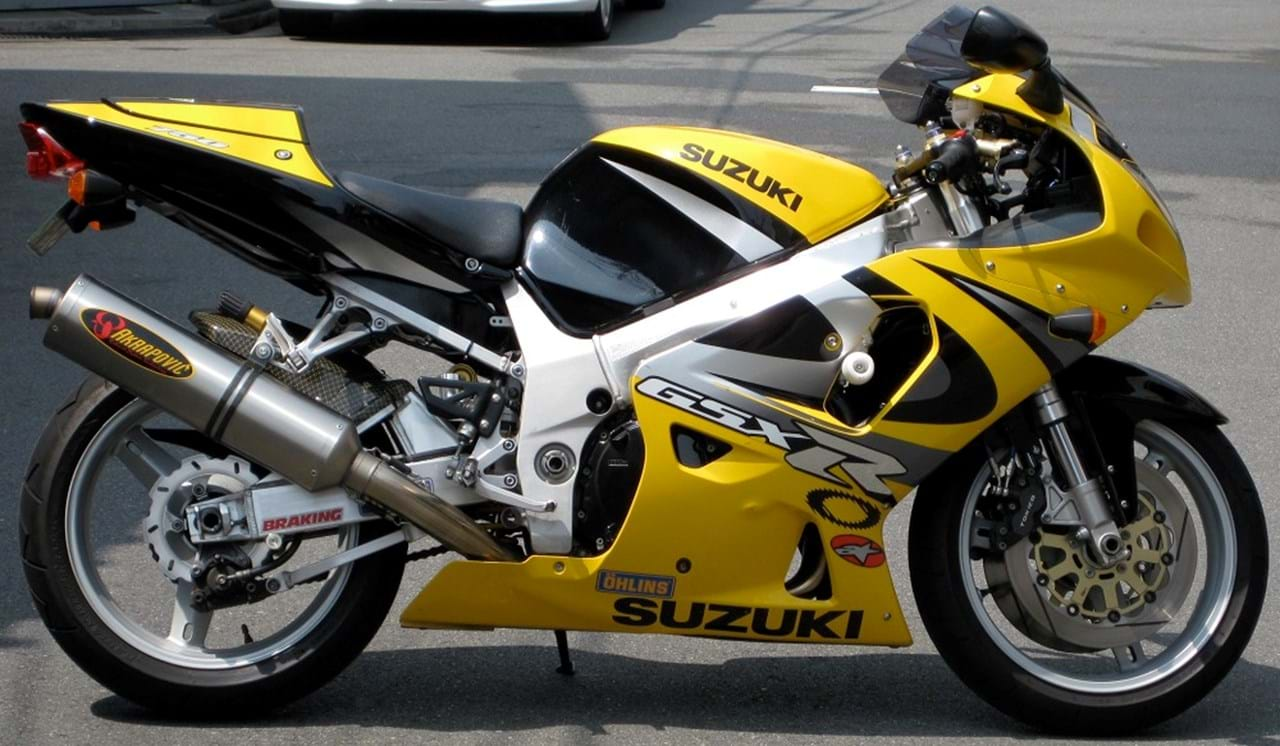 Suzuki Gsx R750 2000 2003 For Sale Price Guide The