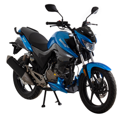 Lexmoto Naked Isca 125 (2019 On)