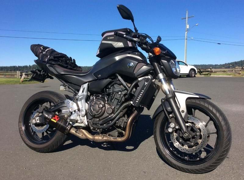 Naked - 2019 Yamaha MT-07 LA aka The Dark Phoenix