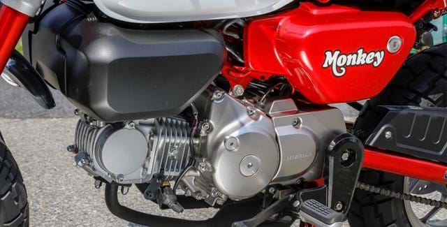 Single Cylinder Motorbike Engine