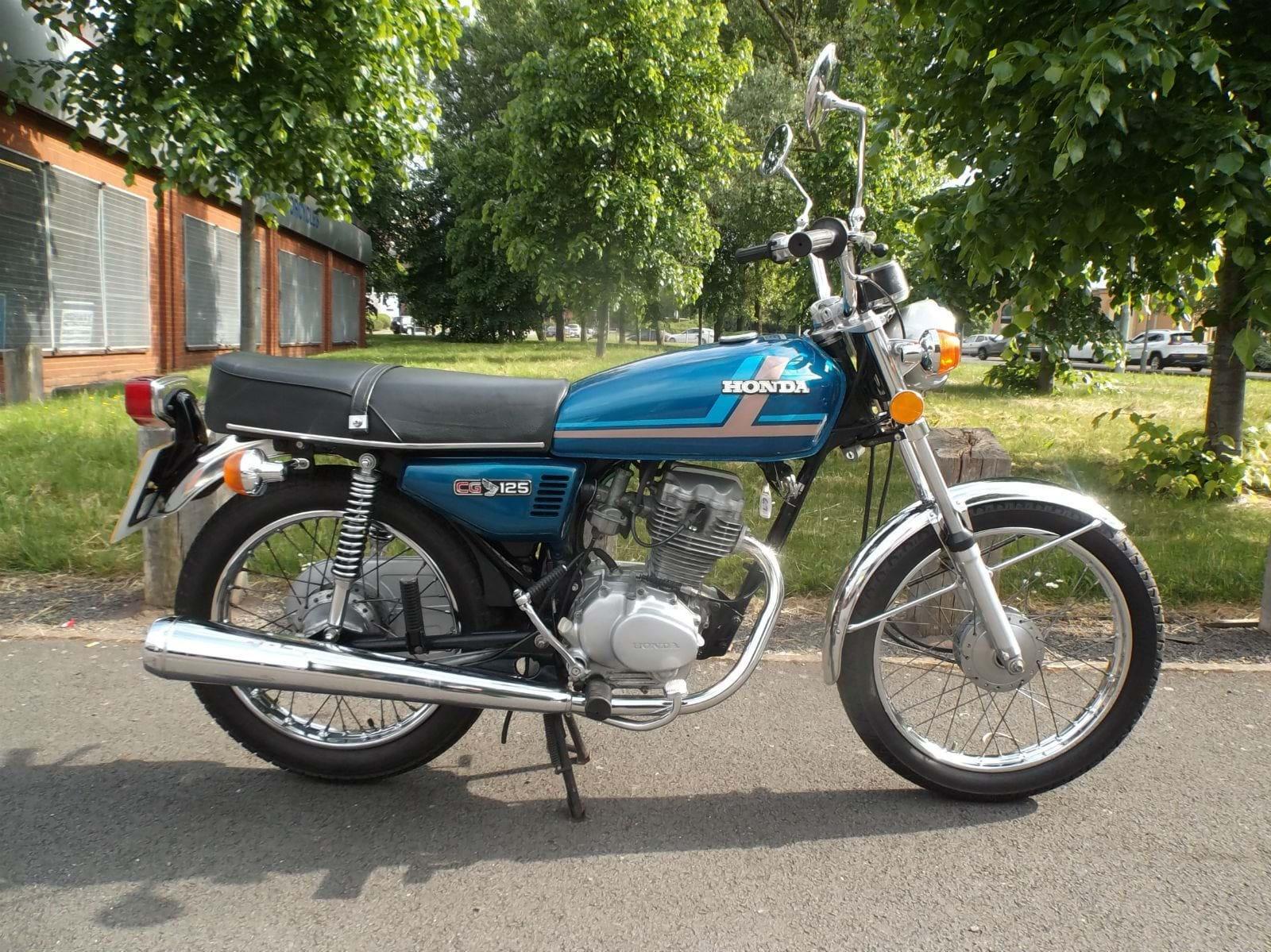 Chwalebne For Sale: Honda CG125 • The Bike Market KO43