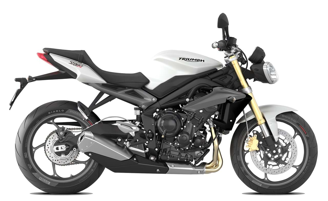 triumph street triple 675 2012 2016 for sale price guide the bike market. Black Bedroom Furniture Sets. Home Design Ideas