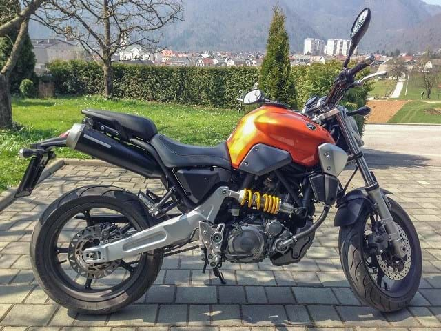 Yamaha MT-03 2007 Orange