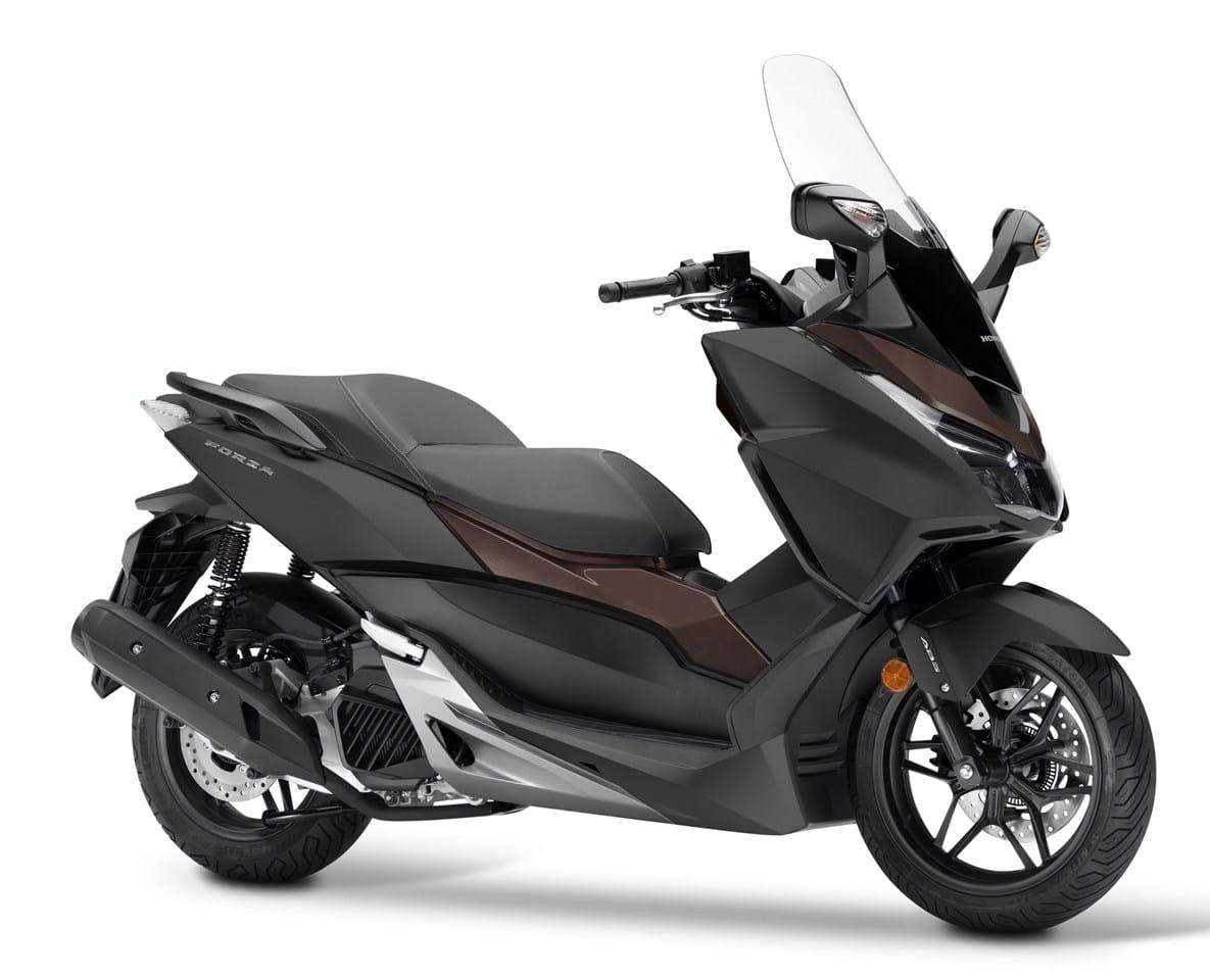 Présentation de la scooter 125 Honda Forza 125 2017